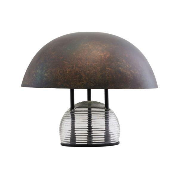 Umbra bordlampe fra House Doctor i antik brun