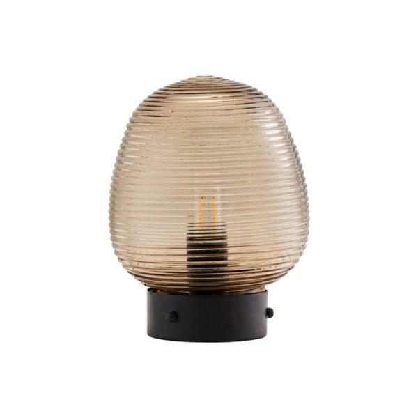Ghia bordlampe fra House Doctor i brun
