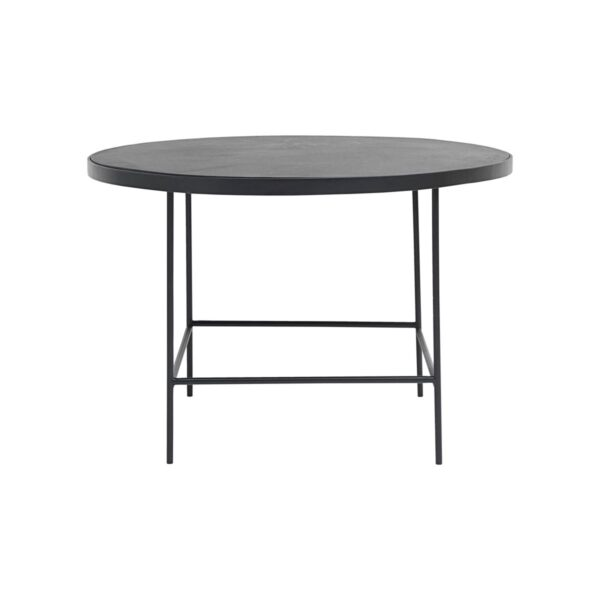House Doctor Balance sofabord i sort Ø70 cm