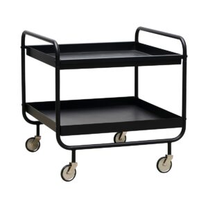 House Doctor roll trolley i sort stål