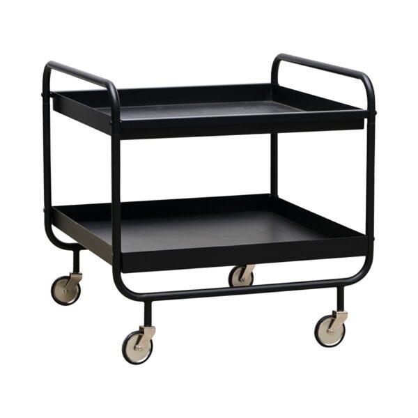 House Doctor roll trolley i sort stål