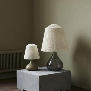 Yarn lampeskærm i beige