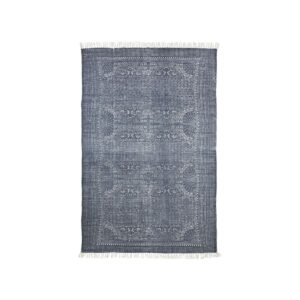 House Doctor Iza gulvtæppe i grå og hvid, 230x160 cm