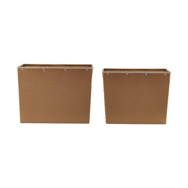 Box 2 opbevaring fra House Doctor i brun