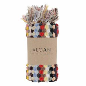 ALGAN ahududu gæstehåndklæde i multifarver