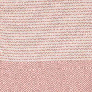 Algan elmas-iki hamamhåndklæde i gammelrosa