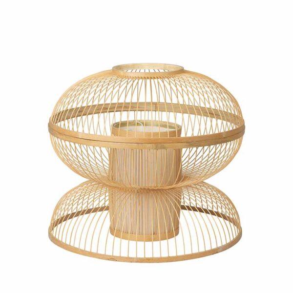 Broste Copenhagen Sabbie lampeskærm i bambus