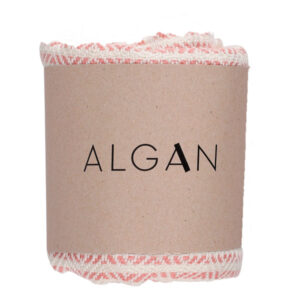 Algan elmas-iki gæstehåndklæde i gammelrosa