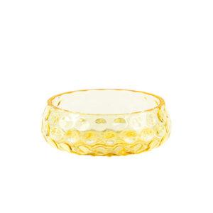 Kodanska danish summer skål gul glas Ø12,3 cm