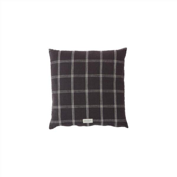 Kyoto kvadrat pude fra OYOY i mørkegrå