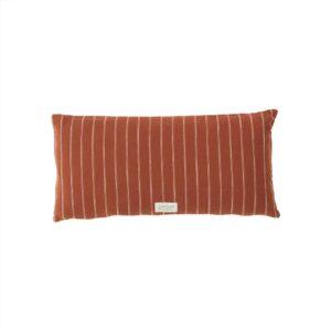 Kyoto lang pude fra OYOY i mørk rød / brun