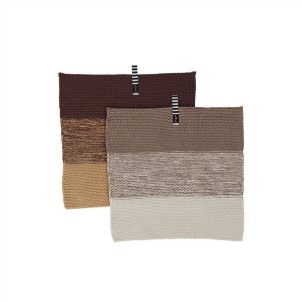 Niji karklude fra OYOY i brune nuancer