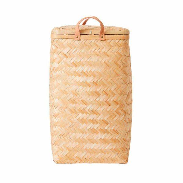 OYOY Sporta vasketøjskurv i bambus