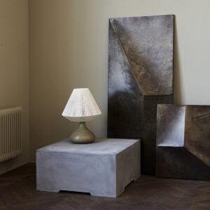 Fold design wall art fra House Doctor i antik brun