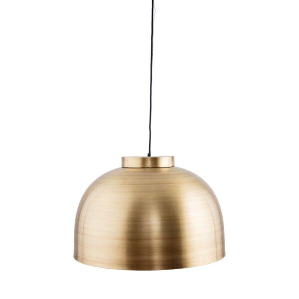 Bowl lampe fra House Doctor i messing
