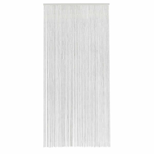 Nordal bambus flueforhæng hvid