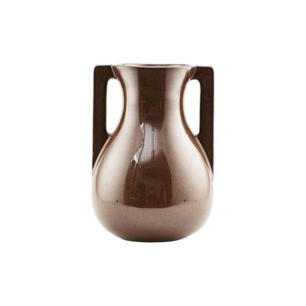 Mississipi vase fra House Doctor i brun