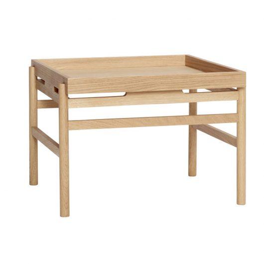 Bord fra Hübsch i egetræ