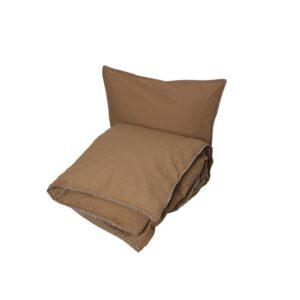 Haikan sengetøj fra OYOY i brun