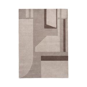 Line gulvtæppe fra Broste Copenhagen 140x200