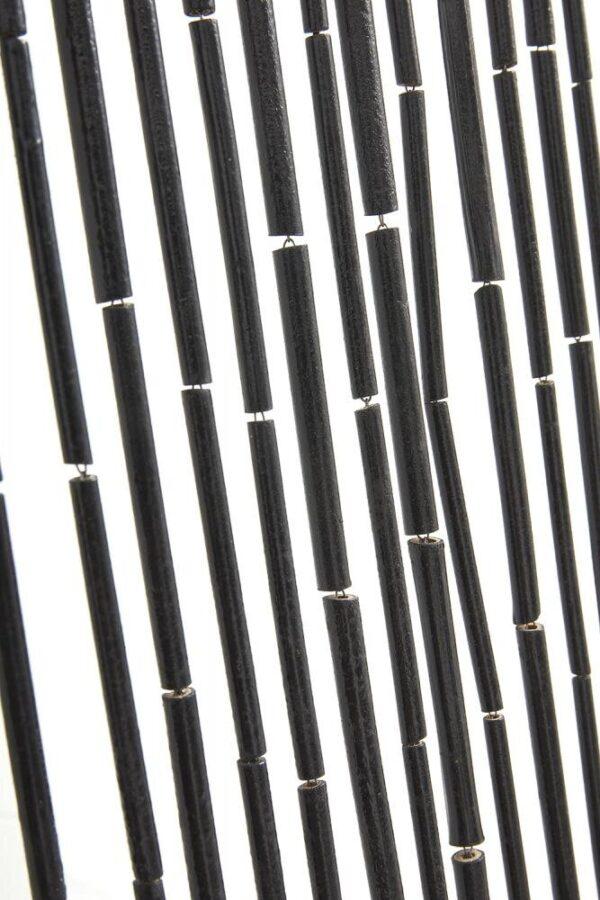 Nordal bambus flueforhæng sort