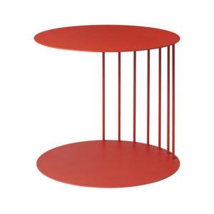 Puf bord fra Broste Copenhagen i rød