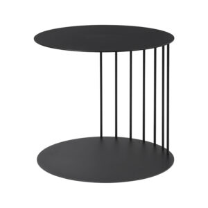 Puf bord fra Broste Copenhagen i sort