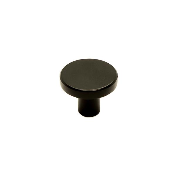 MOUD Home Dot knage i mat sort Ø2,5 cm