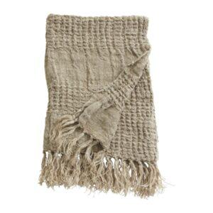 ARGO håndklædeholder fra Nordal i beige hør