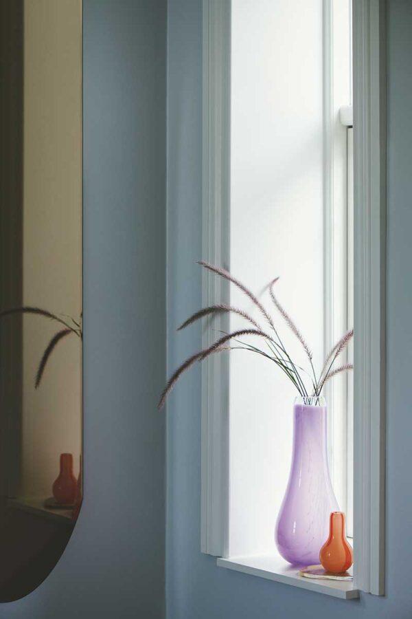 Kodanska Flow vase lilla med print