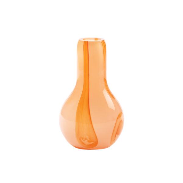 Kodanska Flow vase pink med striber