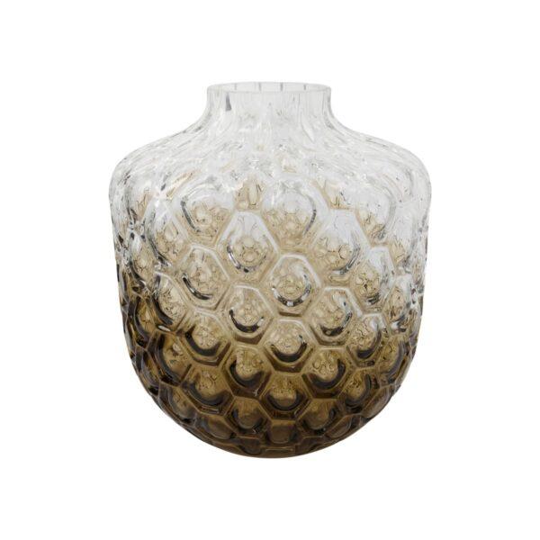 Art Deco vase fra House Doctor i brun