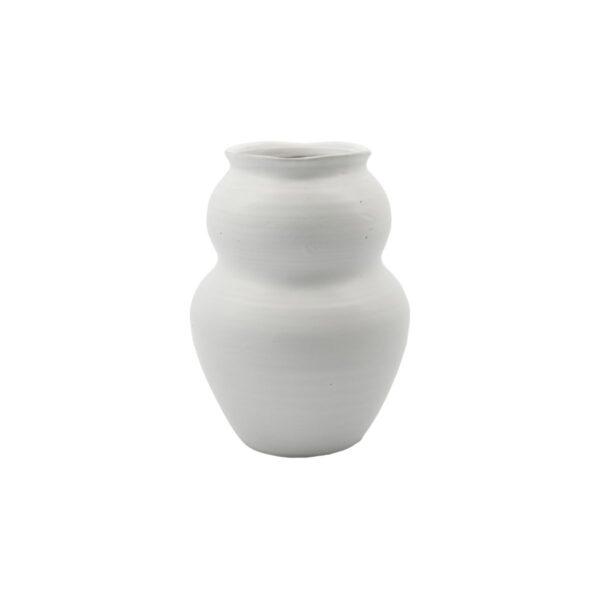 Juno vase fra House Doctor i hvid