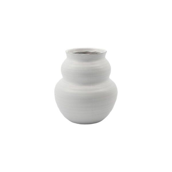Juno vase fra House Doctor i hvid str. medium