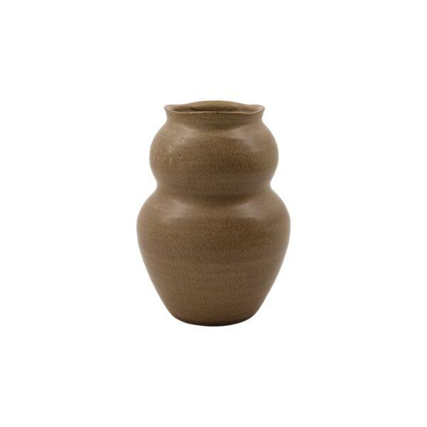 Juno vase fra House Doctor i brun str. large