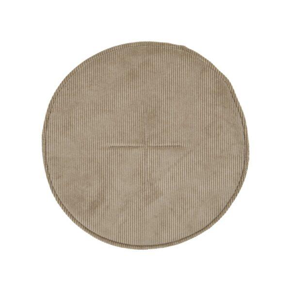 Cord siddehynde fra House Doctor i sandfarvet rund