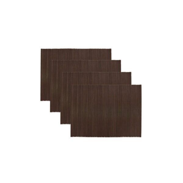 Bamb dækkeserviet fra House Doctor i brun