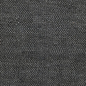 Hempi tæppe fra House Doctor i sort med størrelsen 300x90