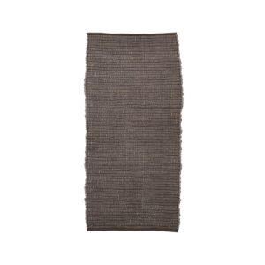 House Doctor Chindi gulvtæppe i brun 160x70 cm