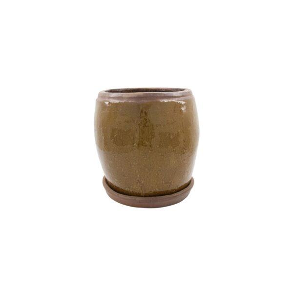Khap urtepotte fra House Doctor i brun i størrelsen medium