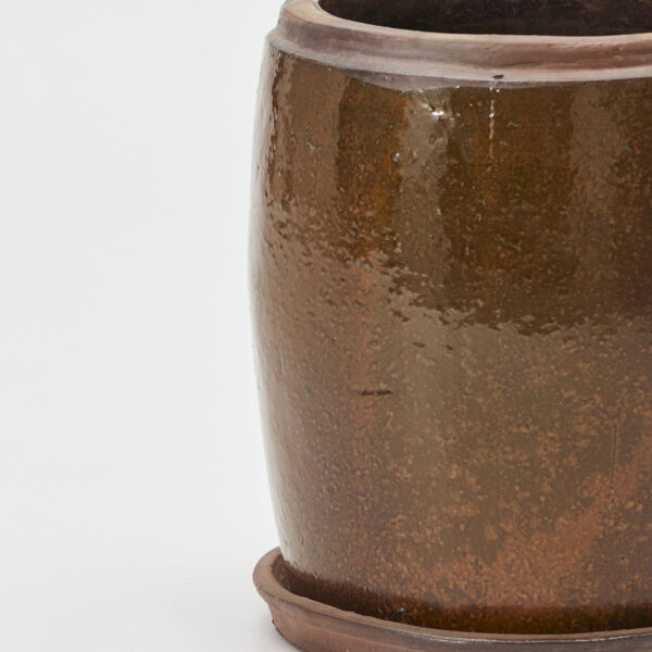 Khap urtepotte fra House Doctor i brun i størrelsen large