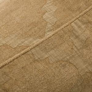 House Doctor wail pudebetræk i gyldenbrun. 50x50 cm