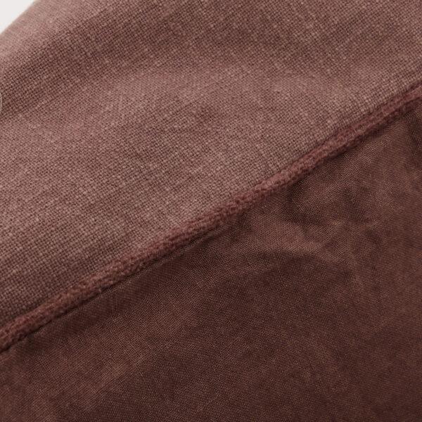 Sai pudebetræk fra House Doctor i rød / brun