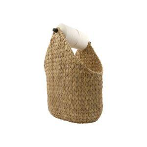 Paper toiletrulleholder / kurv fra House Doctor i natural
