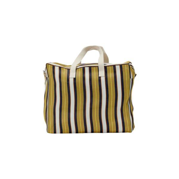 Recy weekendtaske fra House Doctor i gul og brun