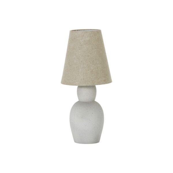 Orga Bordlampe inkl. lampeskærm fra House Doctor i sandfarvet