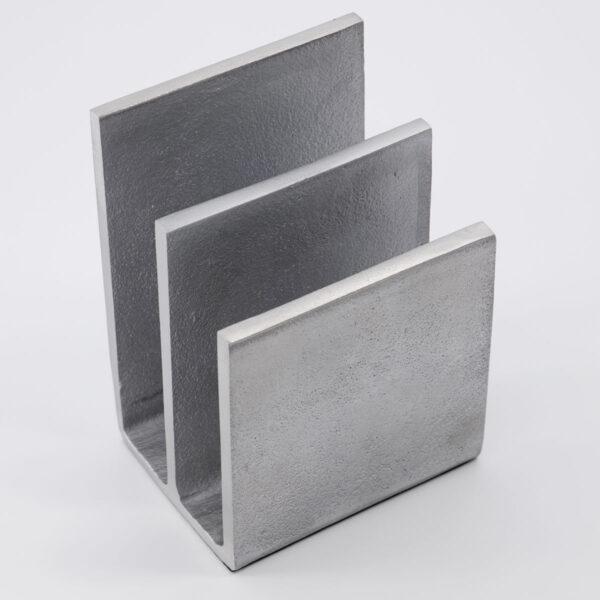 Mono dokument opbevaring fra Monograph i børstet sølv