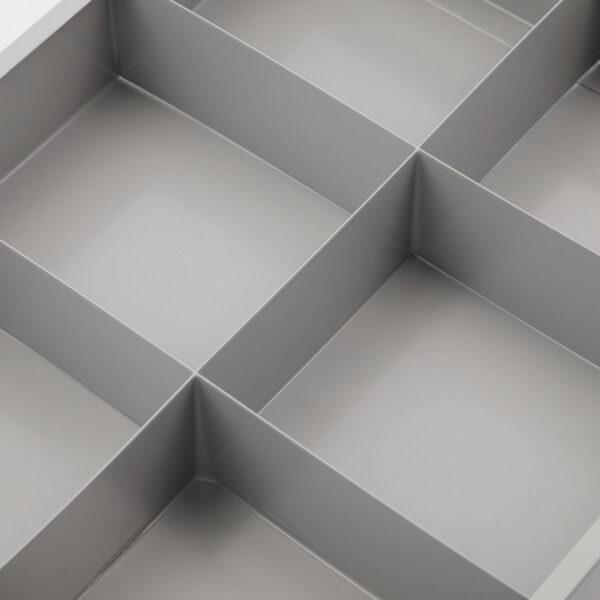 Optimus organiseringskasse / værktøjskasse fra Monograph i grå