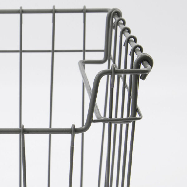 Addit metalkurv fra Monograph i grå