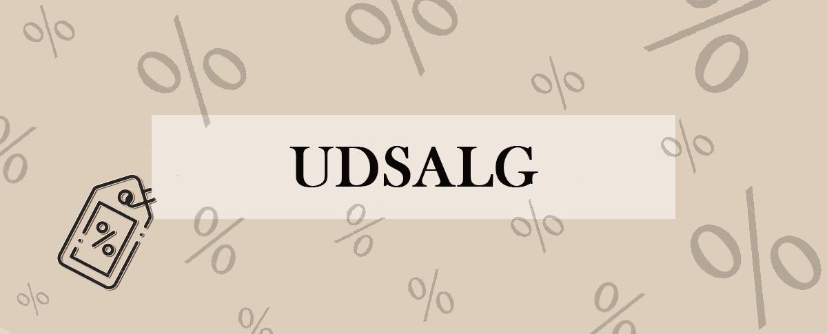 Udsalg - Banner